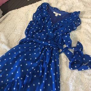 Blue Polka Dot Forever 21 Dress